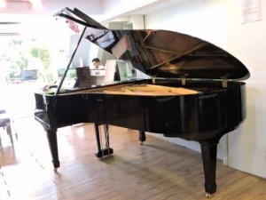 Yamaha No.7 Vintage (1958, restored) Semi-Concert Grand Piano - The Piano Shop